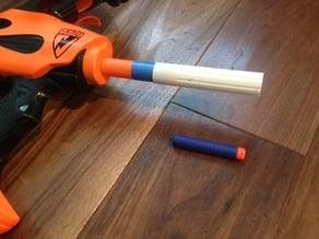 Nerf Elite dart adapter for Nerf Bow