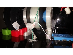 Optical runout sensor compatible transparent filament