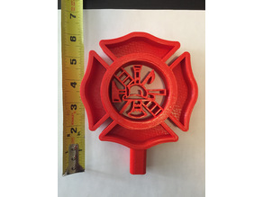 Maltese Cross Beer Tap Handle