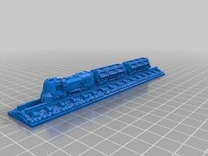 Factorio Train Display