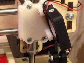 Printrbot LC part cooling fan mount