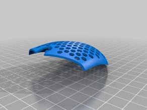 Logitech G305 Top Cover w/ Hex Pattern