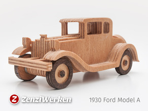 1930 Ford Modell A  simplified cnc/laser
