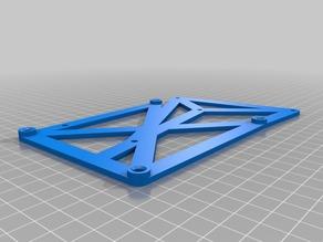 Mounting Board for DuetWifi in a Flashforge Creator Pro