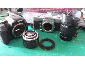 Minolta MC to Canon EF Lens Adapter