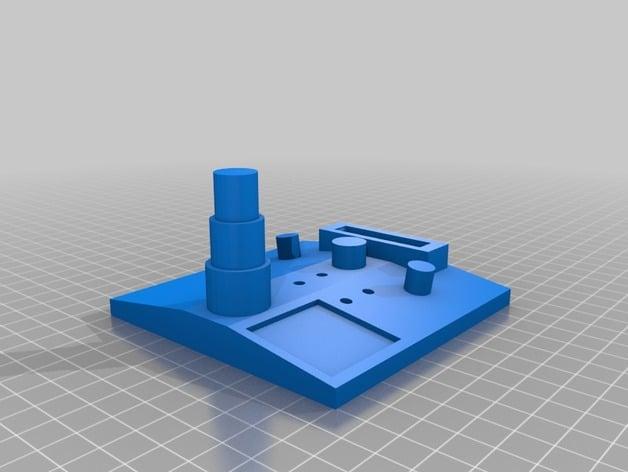 Blank Dillon Square Deal B caliber conversion kit tool stand