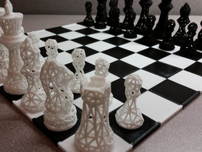 SNAP fit chess/game board