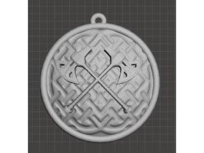 Dwarven Holy Symbol - Clangeddin Silverbeard