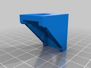 Corner angle aluminum mounting bracket 20mm x 28mm