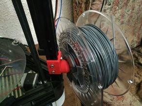 Totally printed spool holder