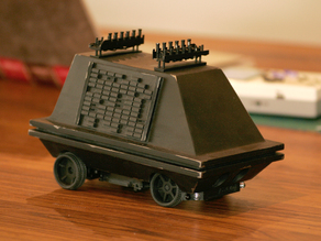 STAR WARS MSE-6 mouse droid body for 1:24  RC Car chassis