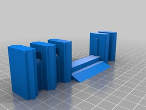 28mm Scale, Modular Low Walls