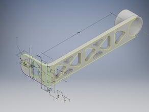 Totally over-engineered ventilation 2020 slider arm