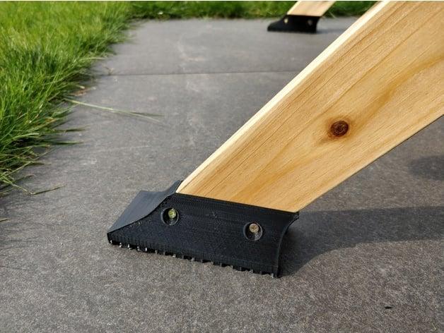 foot for aldi kinder spiel wasser sandkastentisch by 2bk thingiverse