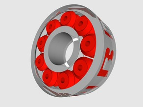 608 Bearing Replacement (print in place/fully printable)