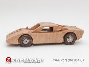 1964 Porsche 904 GT simplified laser/cnc