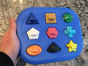 Shape Tray Toy for Baby
