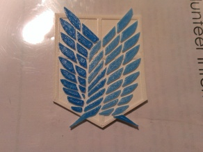 Attack on Titan Scouting Regiment Emblem