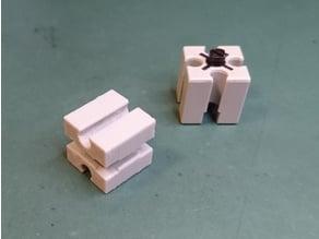 fischertechnik building block 15 with six grooves (Baustein 15 mit sechs Nuten)