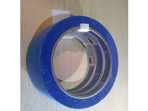 Tape(50mm) holder with or without screwholes