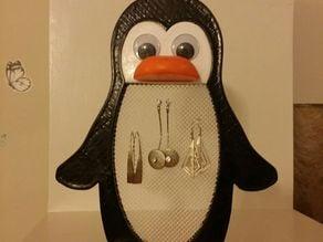 Earing Stand / Holder - Penguin