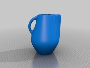 Pulled Pitcher W/ Handle