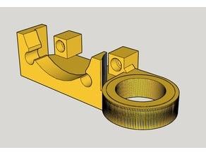 Anet A8 18mm Sensor Bracket and Extruder Fan Holder