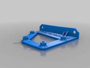 MICROMAKE 3D Printer Delta mini kossel Arduino Mega / Mega 2560 / Due Drilling And Mounting Plates