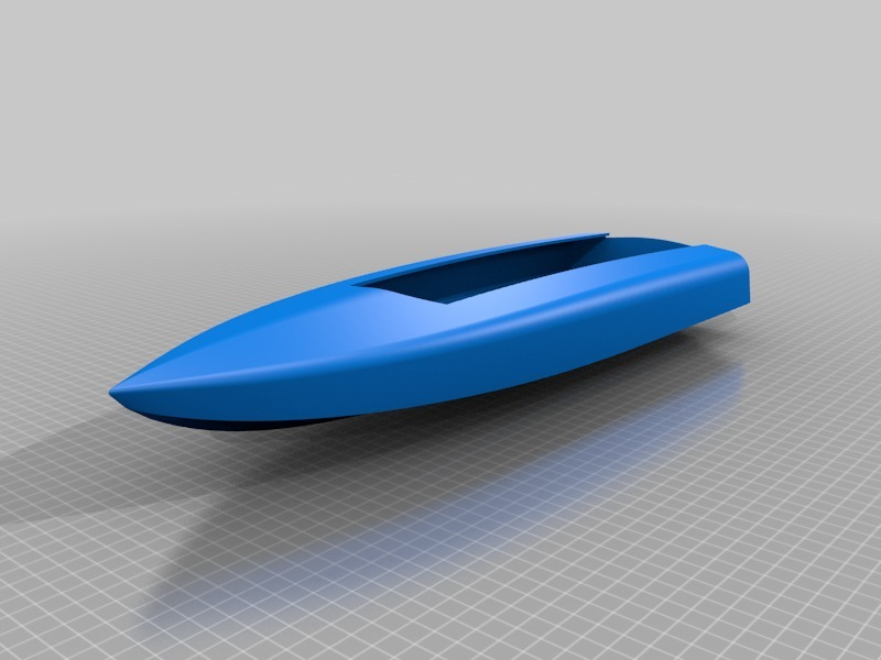 Speed Boat 3 RC by wersy - Thingiverse