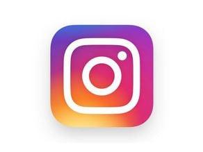 Instagram Logo (Current - pink)