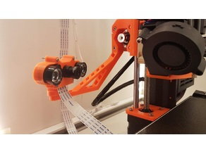 IR-Pi Cam Prusa i3 MK3/MK3s Camera mount Swivel Package