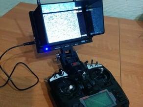 FPV monitor mount on Turnigy / FlySky transmitter