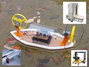 Embase de bateau - Boat base