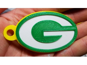 Green Bay Packers Keychain