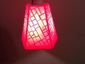 Pendant Lamp Shade - Square Pattern
