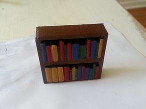 "2""x1"" Simple Tabletop Bookshelf"