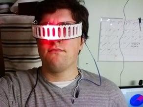 NeoPixel 60 Pixel Ring Sci-Fi Visor