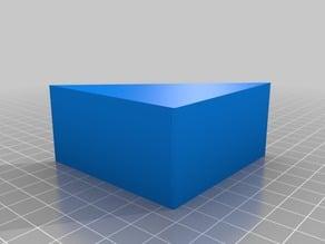 Corner for folding table