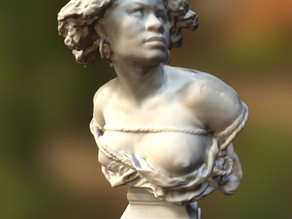 bust of female slave