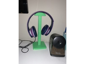 Basic Headphone Stand for Smaller Printbeds