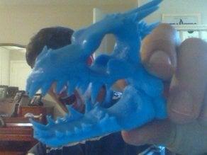 Punk Dragon Skull