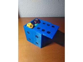 D6 diced box