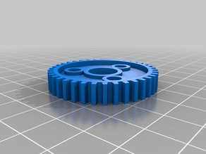 Traxxas 3954 Spur gear, 38-tooth (1.0 metric pitch)