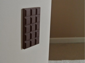 Chocolate outlet cover