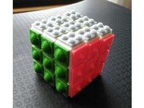 Cubo Rubik adaptado/ Rubik Cube with relief
