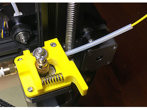 Creality CR-10/Ender 2/Ender 3/Ender 4 Extended Extruder Arm with PTFE tube