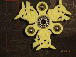 Pikachu Fidget Spinner - Wingnut2k