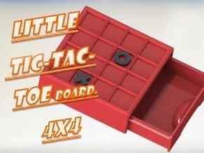 Tic-Tac-Toe 4X4