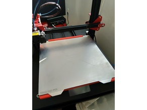 CR10s Pro tabs and stop for Wham Bam magnetic plate