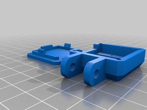 Raspberry Pi Camera Adjustable Mount for I3 Y-carriage upgrade